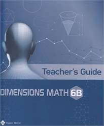 Dimensions Math 6B - Teacher's Guide