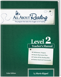 All About Reading Level 2 - Teacher Manual