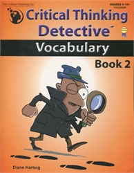 Critical Thinking Detective: Vocabulary Book 2
