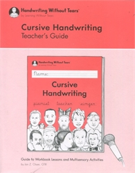 Cursive Handwriting - Teacher's Guide