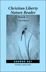 Christian Liberty Nature Reader Book 1 - Answer Key