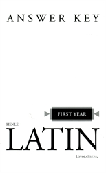 Henle First Year Latin - Answer Key