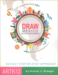 Draw Mexico, Central and South America