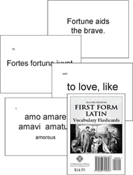 First Form Latin - Flashcards