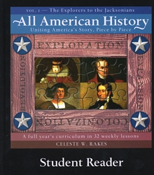 All American History Volume I - Student Reader