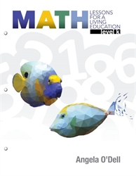 Math Lessons for a Living Education Level K (September 2019)
