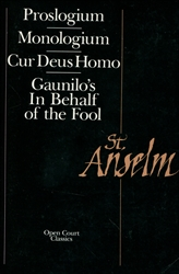 Basic Writings of St. Anselm