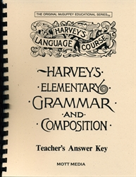 Harvey's Elementary Grammar and Composition - Answer Key