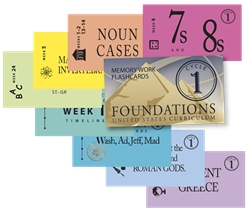 Classical Conversations Foundations Cycle 1 - Flashcards