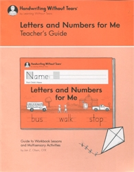 Letters and Numbers for Me - Teacher's Guide