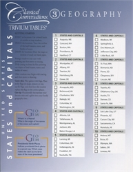 Trivium Tables Cycle 3 Geography
