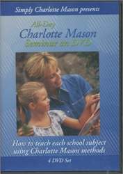 All-Day Charlotte Mason Seminar on DVD