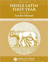 Henle First Year Latin Units VI-XIV - Teacher Manual