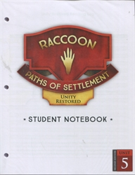 Paths of Settlement - Student Notebook Unit 5