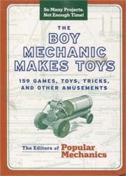Boy Mechanic Makes Toys