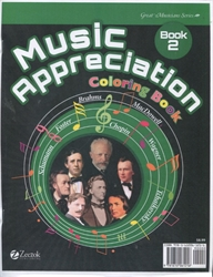 Music Appreciation 2 - Coloring Book