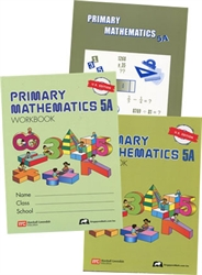 Primary Mathematics 5A - Semester Pack