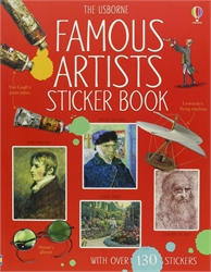 Usborne Famous Artists Sticker Book