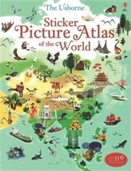 Usborne Sticker Picture Atlas of the World