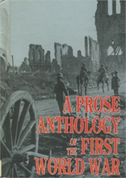 Prose Anthology of the First World War