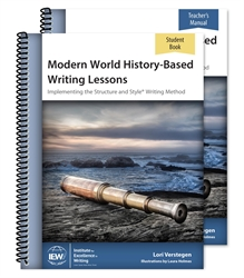 Modern World History-Based Writing Lessons - Teacher/Student Combo