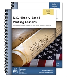 U.S. History-Based Writing Lessons - Teacher/Student Combo