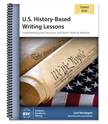 U.S. History-Based Writing Lessons - Student Book