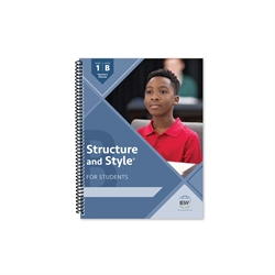 Structure & Style for Students: Year 1 Level B - Teacher Manual