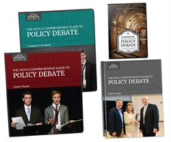 NCFCA Comprehensive Guide to Policy Debate - Set