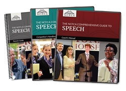 NCFCA Comprehensive Guide to Speech - Set