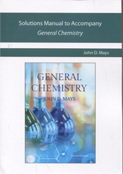 Novare General Chemistry - Solutions Manual