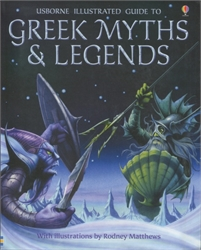 Usborne Illustrated Guide to Greek Myths & Legends
