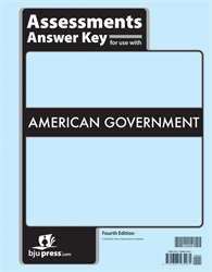 American Government - Assessments Answer Key