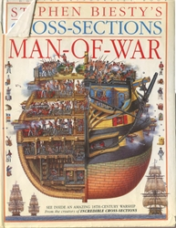 Stephen Biesty's Cross-Sections: Man-of-War