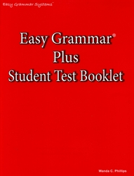 Easy Grammar Plus - Student Test Booklet