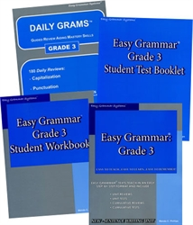 Easy Grammar Grade 3 - Home School Bundle