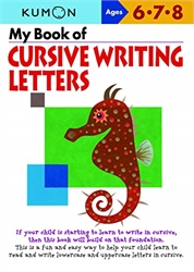 My Book of Cursive Writing Letters