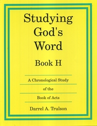 Studying God's Word H