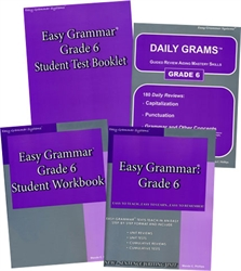 Easy Grammar Grade 6 - Home School Bundle