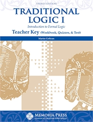 Traditional Logic I - Teacher Key