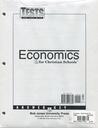 Economics - Tests Answer Key (old)