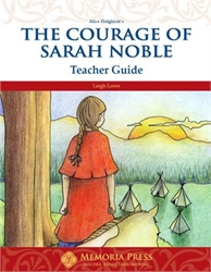 Courage of Sarah Noble - Teacher Guide