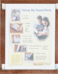 SuperSlate worksheet overlay