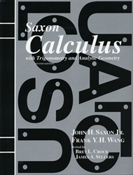 Saxon Calculus - Textbook