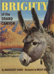Brighty of the Grand Canyon (pictorial cover)
