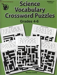 Science Vocabulary Crossword Puzzles Grades 4-6