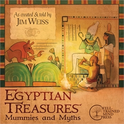 Egyptian Treasures - Audiobook
