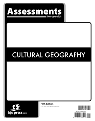 Cultural Geography - Assessments (July 2021)