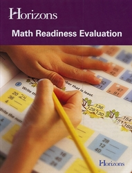 Horizons Math Readiness Evaluation