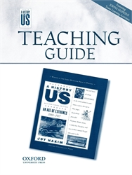 History of US Book 8 - Teaching Guide Middle/High School